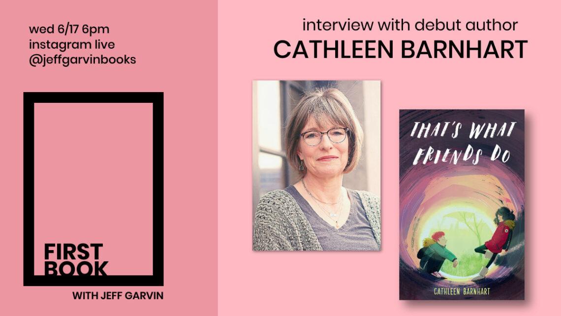 Jeff Garvin First Book Cathleen Barnhart