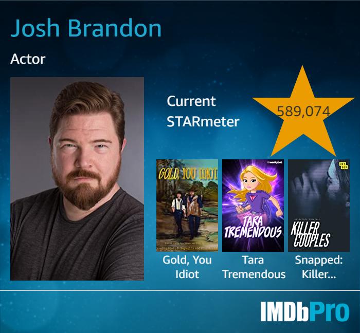 Josh Brandon's IMDB Card