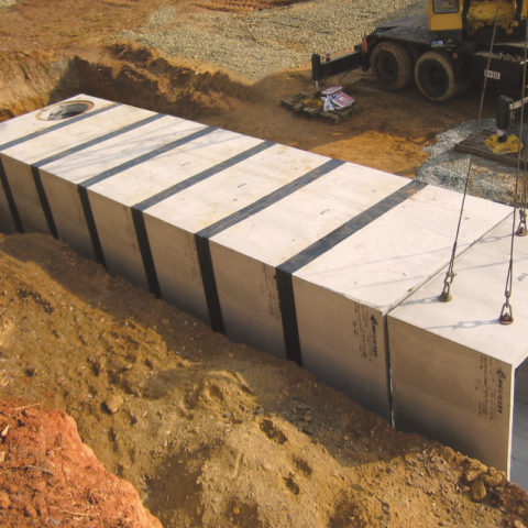 EZ WRAP JOINT WRAP ON BOX CULVERT
