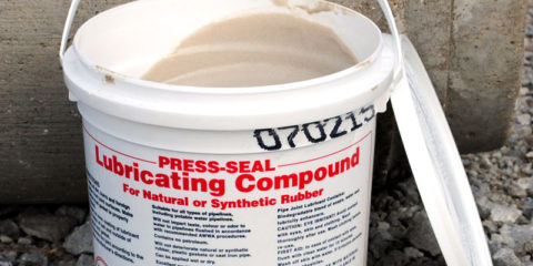 concrete pipe joint lubricant