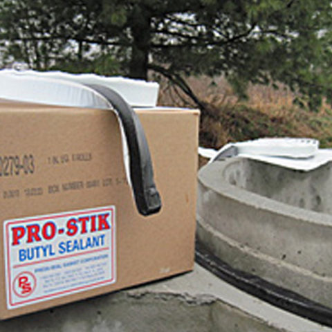 Pro Stik Butyl Sealant for concrete joints