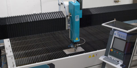 Waterjet cutting services upgraded at Press-Seal