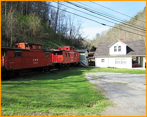 The Red Caboose Inn – Haysi