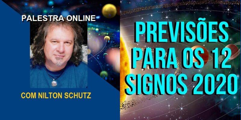 Palestra Online Previsões Para os 12 Signos 2020 – Nilton Schutz