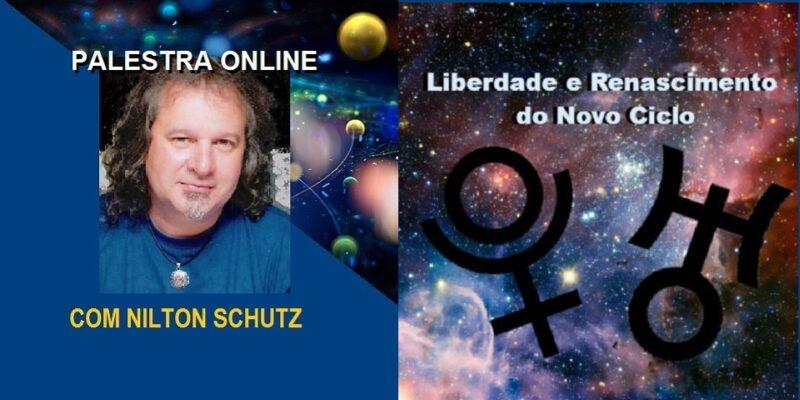 Palestra Online Urano e Plutão – Liberdade e Renascimento – Nilton Schutz