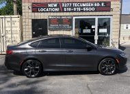 2015 Chrysler 200 S – One Owner, Nav, Leather Heated Seats, Panoramic Sunroof, Paddle Shifters, Bluetooth