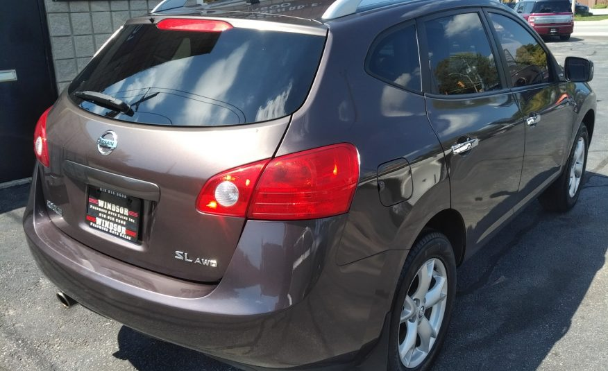 2010 Nissan Rogue SL AWD – Heated Seats, Sunroof