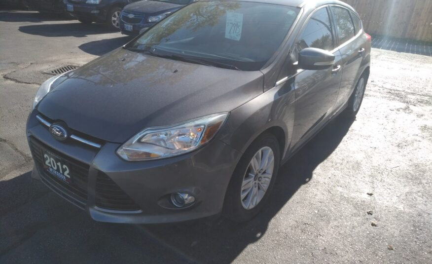 2012 Ford Focus Hatchback SEL- Bluetooth, Heated Seats, Digital Climate Control, Alloy Wheels