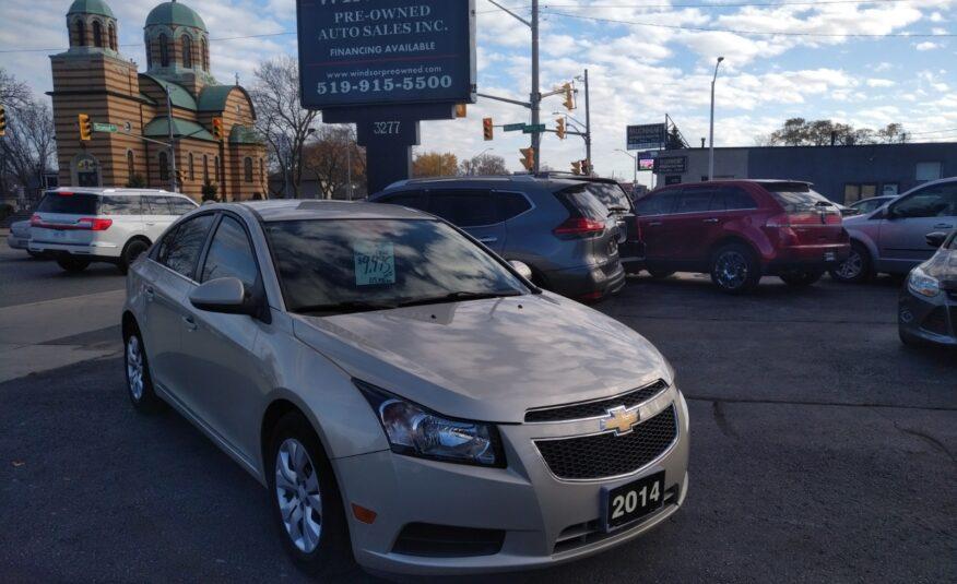 2014 Chevrolet Cruze LT – Bluetooth, Remote Start