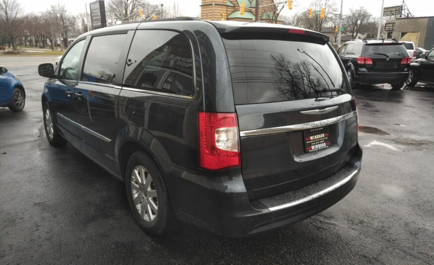 2013 Chrysler Town & Country Touring – One Owner, Back-up Camera, Double DVD, Bluetooth, Heated Seats, Remote Start, Power Doors, Stow'n'Go