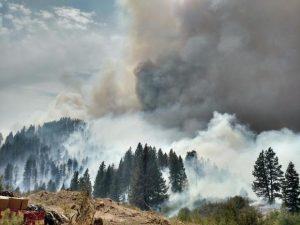 Pioneer Fire Idaho 8/16
