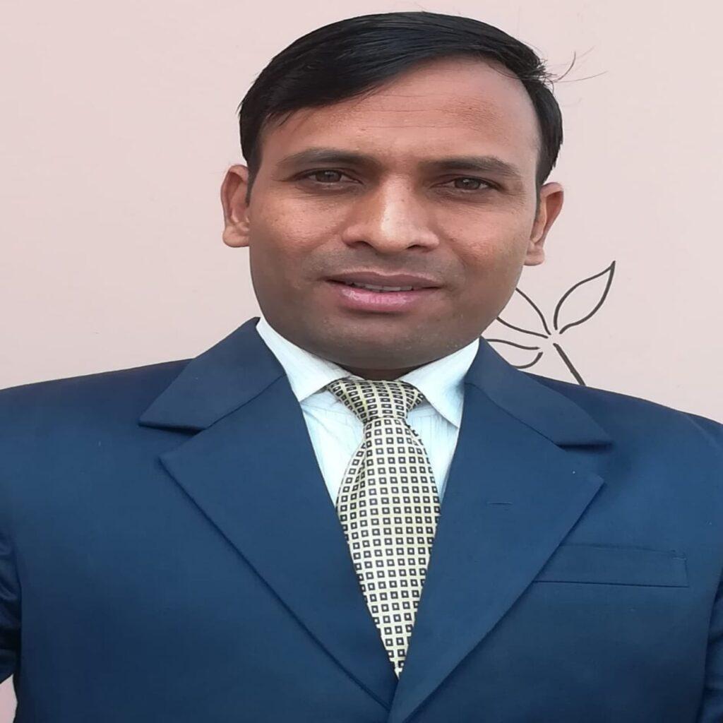 Alok Pandey an English teacher