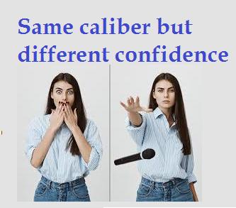 Confidence to speak English