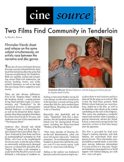 Cine Source Tenderloin, by David L. Brown