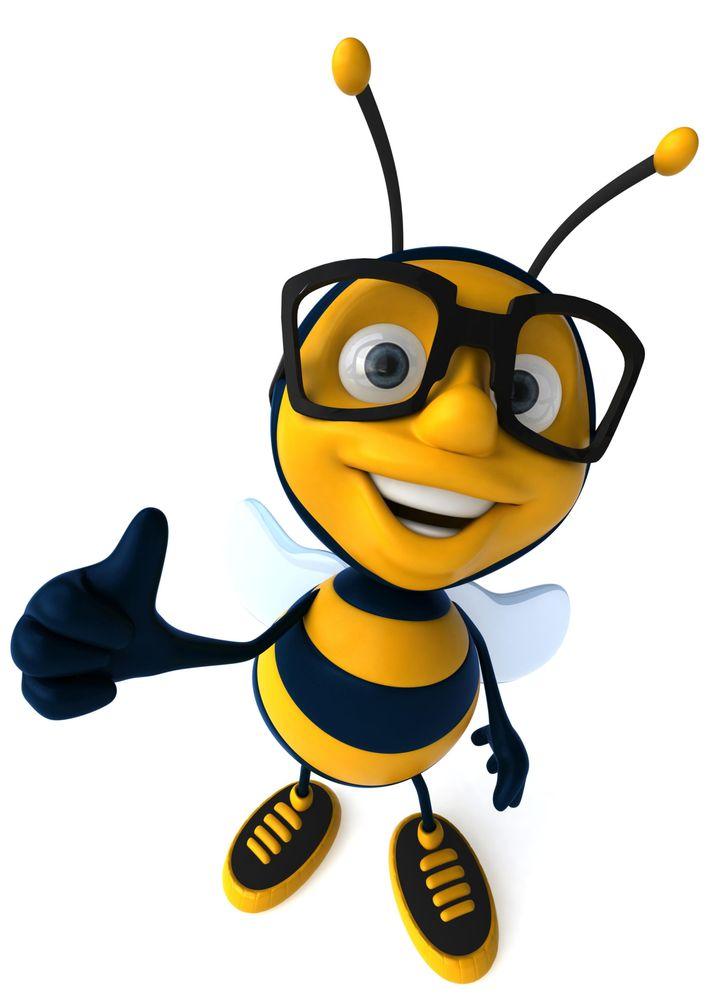 Hive Staffing Mascot