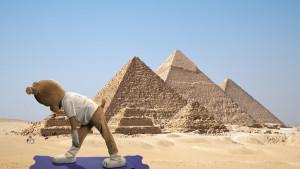 Pyramid pose