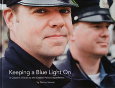 Keeping A Blue Light On by Stacey Sanner