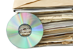 DVD with File Folders