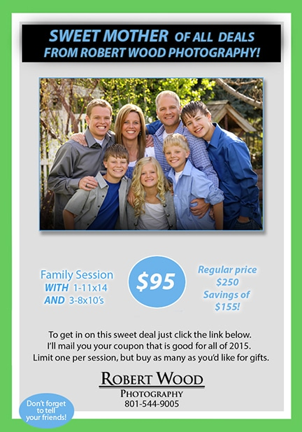 Great Deal on Family Photography