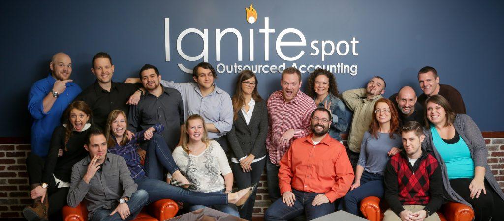 company employee group photo