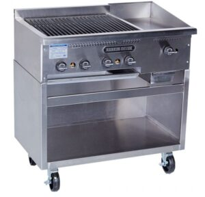 RD Broiler Griddle Combo