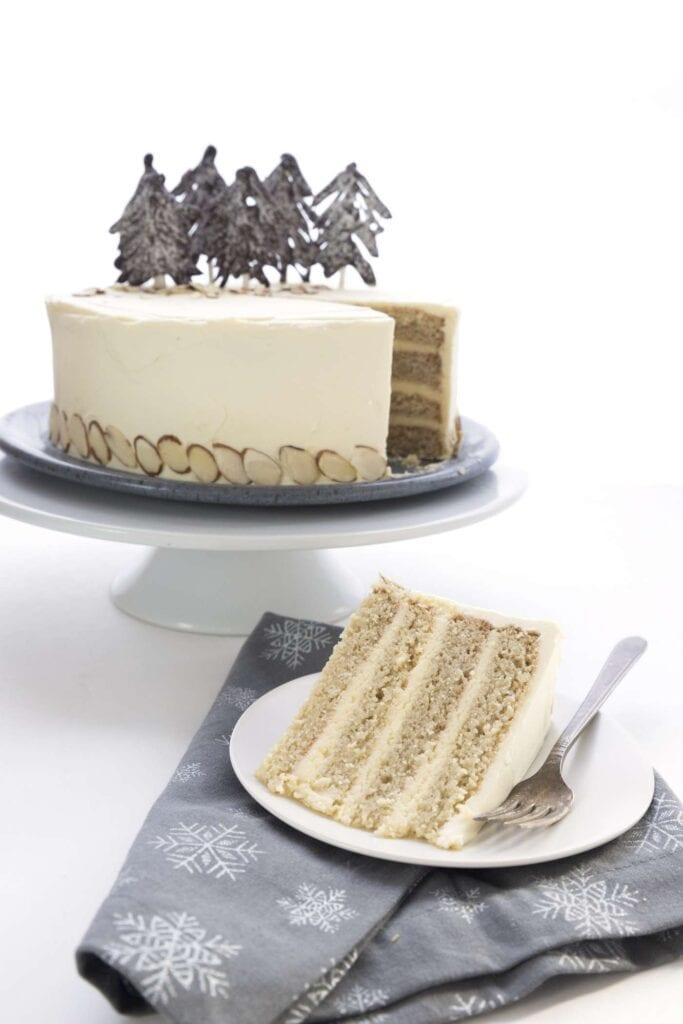 keto meal plan almond white cake