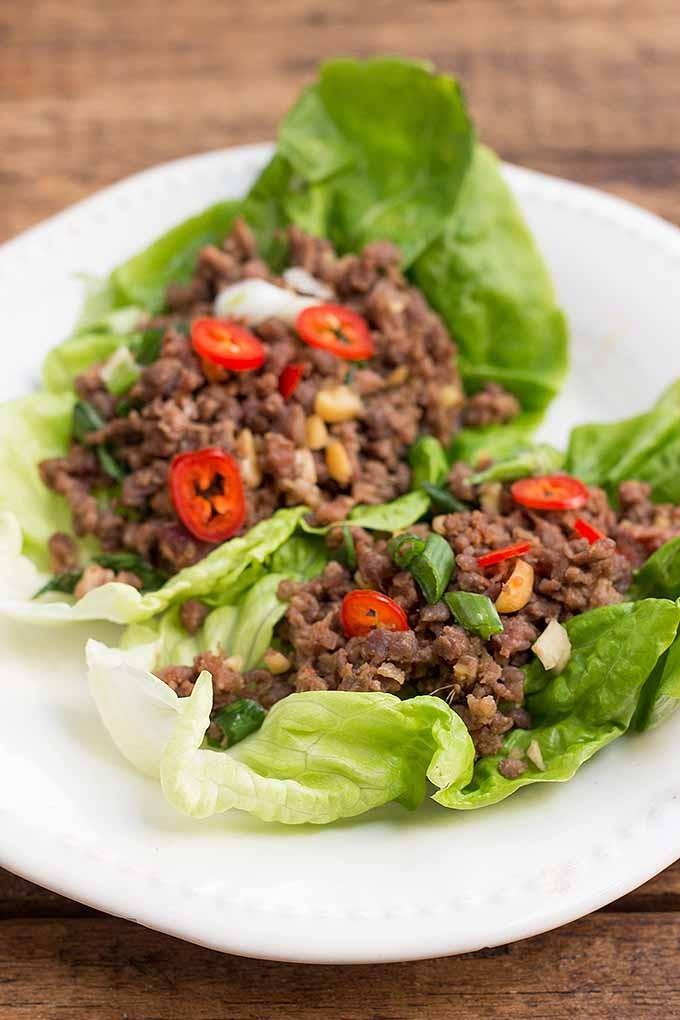 keto ground beef lettuce wraps