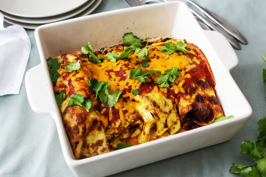 keto meal plan enchiladas
