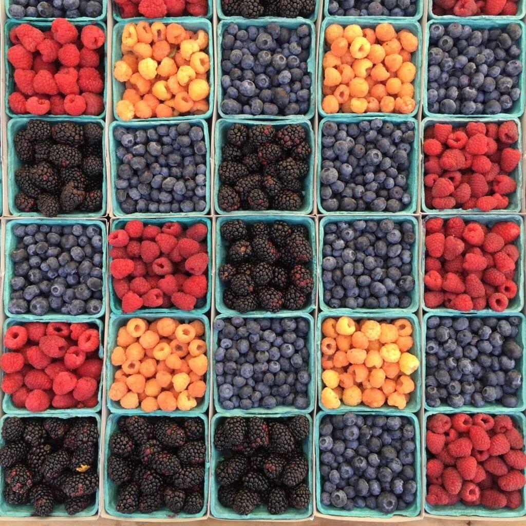 low carb fruits