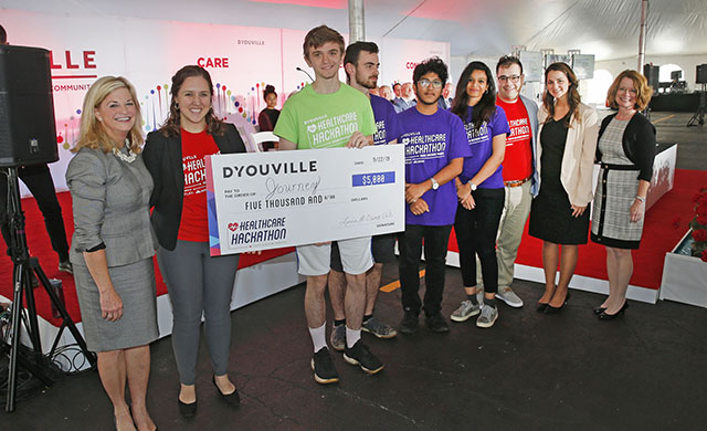 D'YOUVILLE AWARDS $30,000 FOR HEALTHCARE HACKATHON COMPETITION