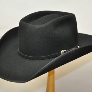 black brick hat with matching hatband