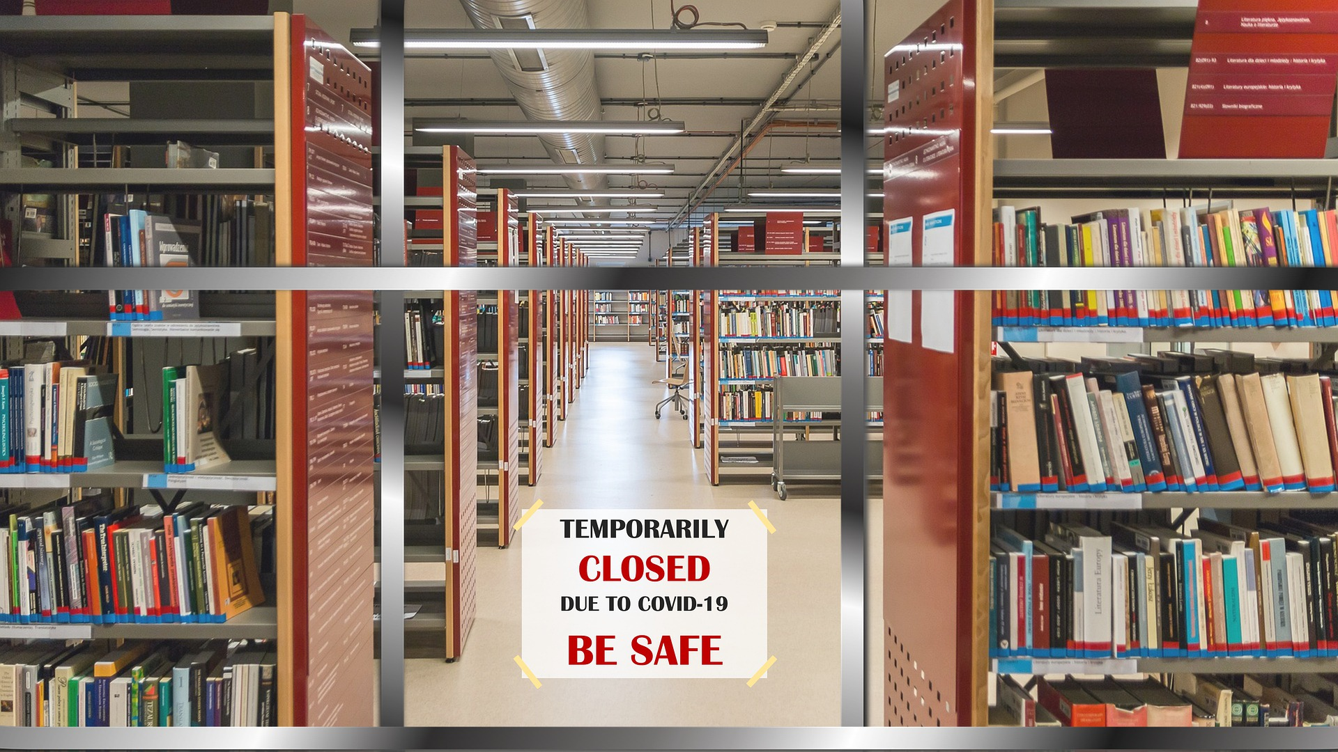 Library Closed for Covid-19
