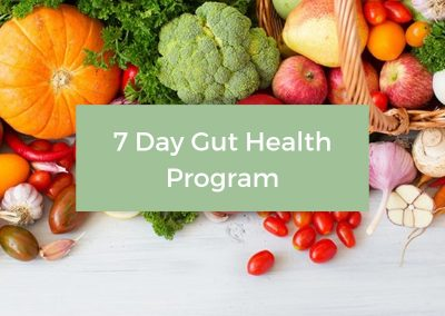 7 Day Gut Health Program