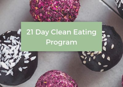 21 Day Clean Eating Program
