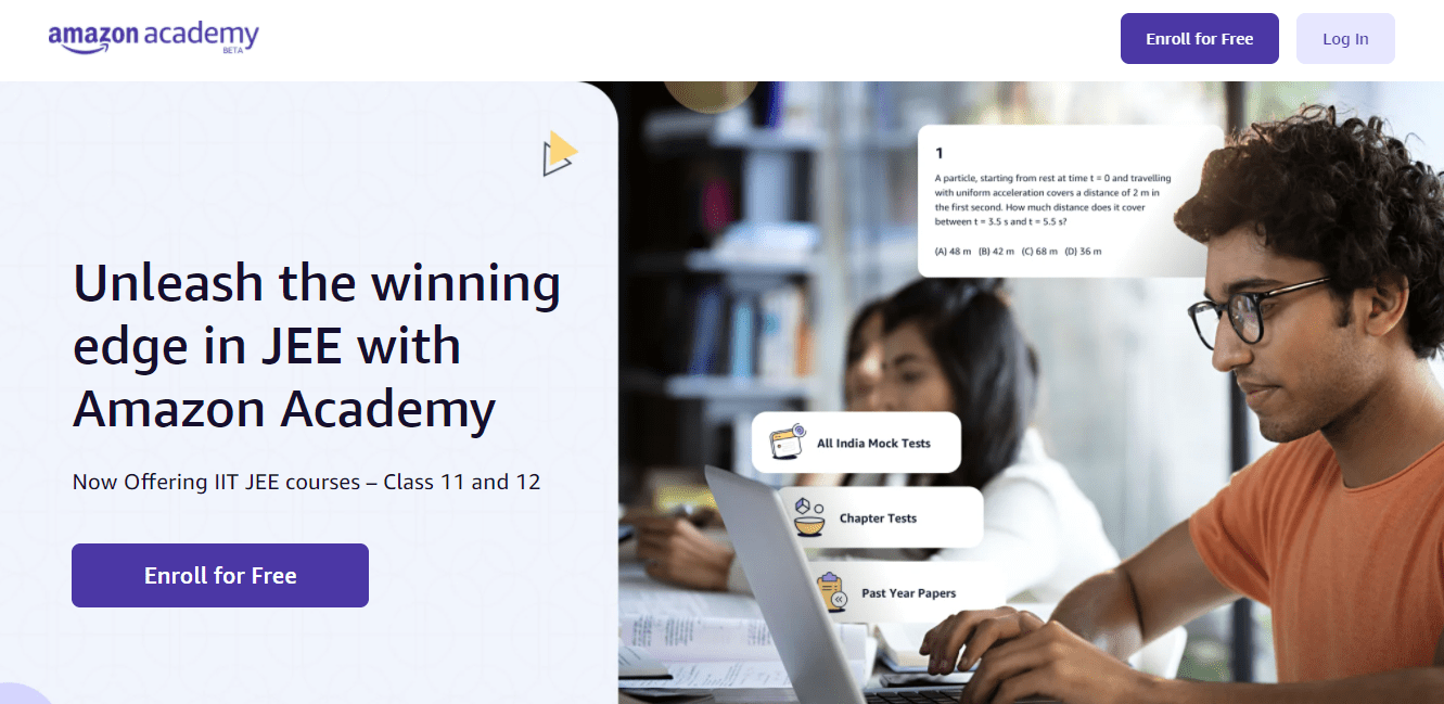 Amazon India Launches Education Academy To Help Student Prepare For Competitive Exams