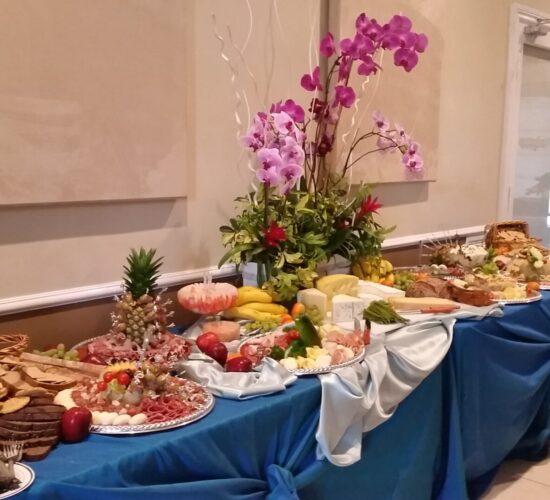 50th birthday celeb - Buffet table