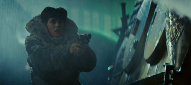 Actress Sean Young plays android Rachael Rosen in Blade Runner, 1982 (dir: Ridley Scott)