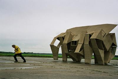 Theo Jansen. Animaris Rhinoceros