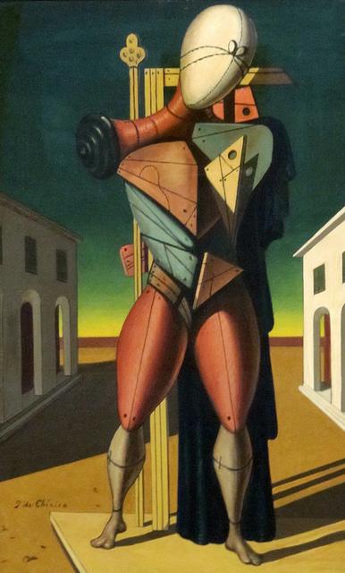 Giorgio de Chirico. Troubadour, 1940
