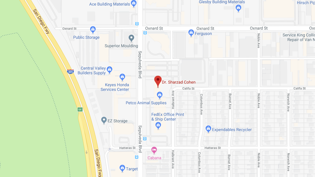 audiology sherman oaks office map