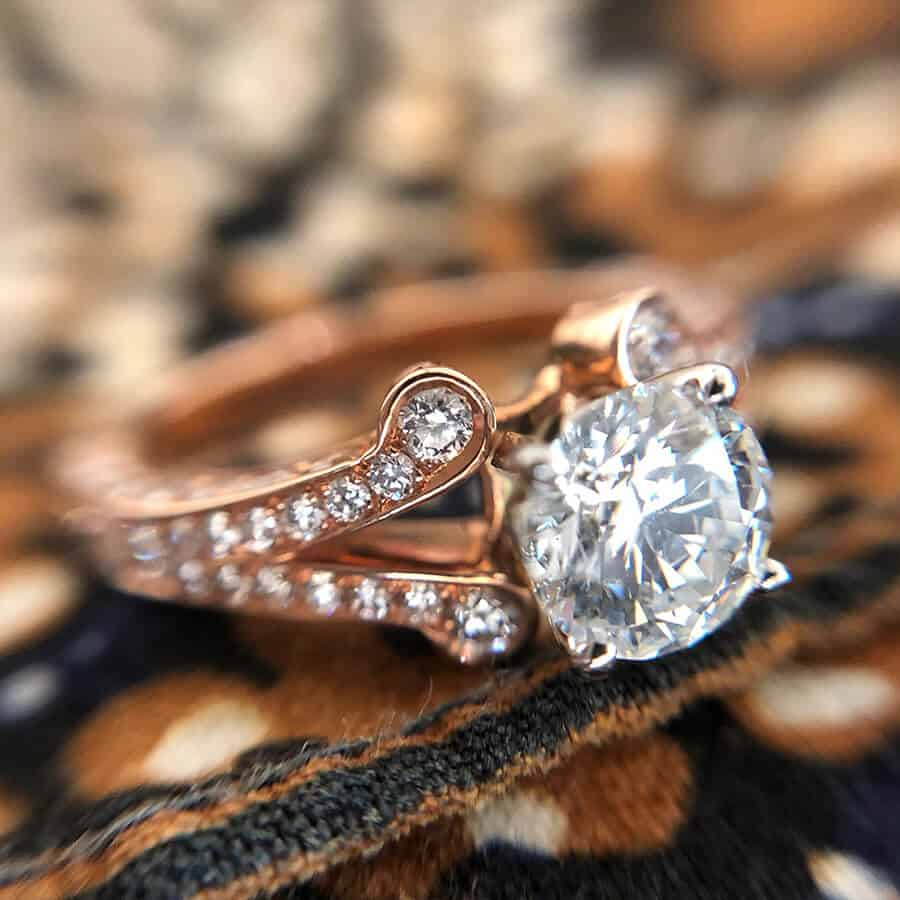 Engagement Ring Styles Albuquerque Pave