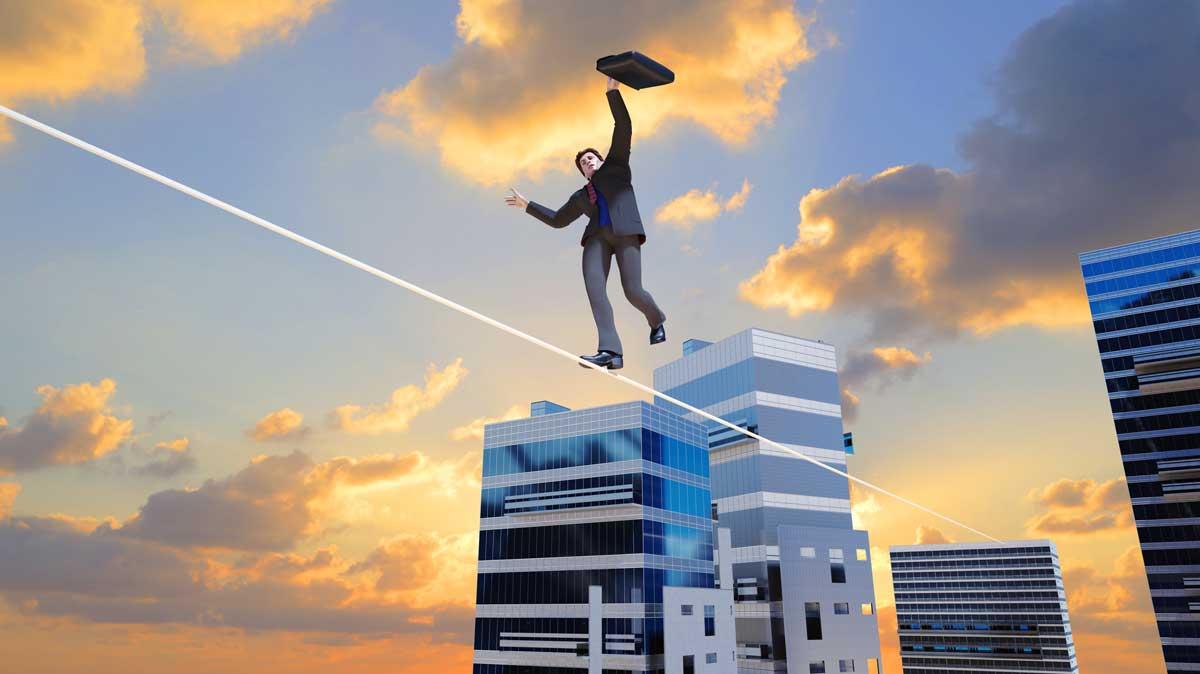 Unknowns Have Investors Walking a Tightrope