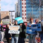 Climate & Fracking signs KB