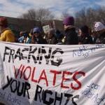 Fracking violates rights banner KB