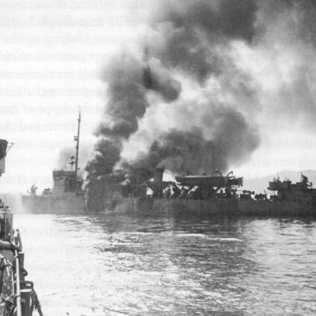 Kamikazes Strike Task Force