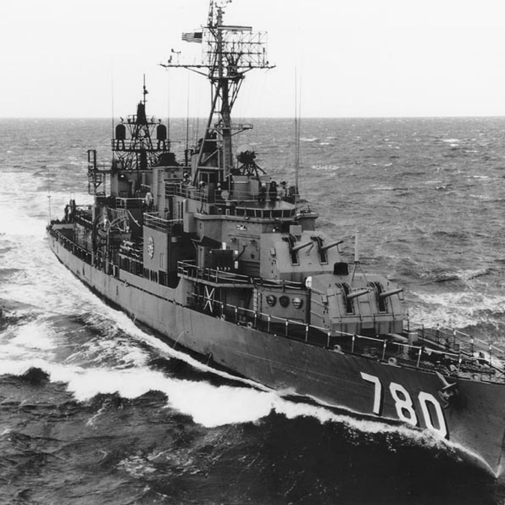 James is Assigned to a Destroyer, the USS Stormes (DD-780)