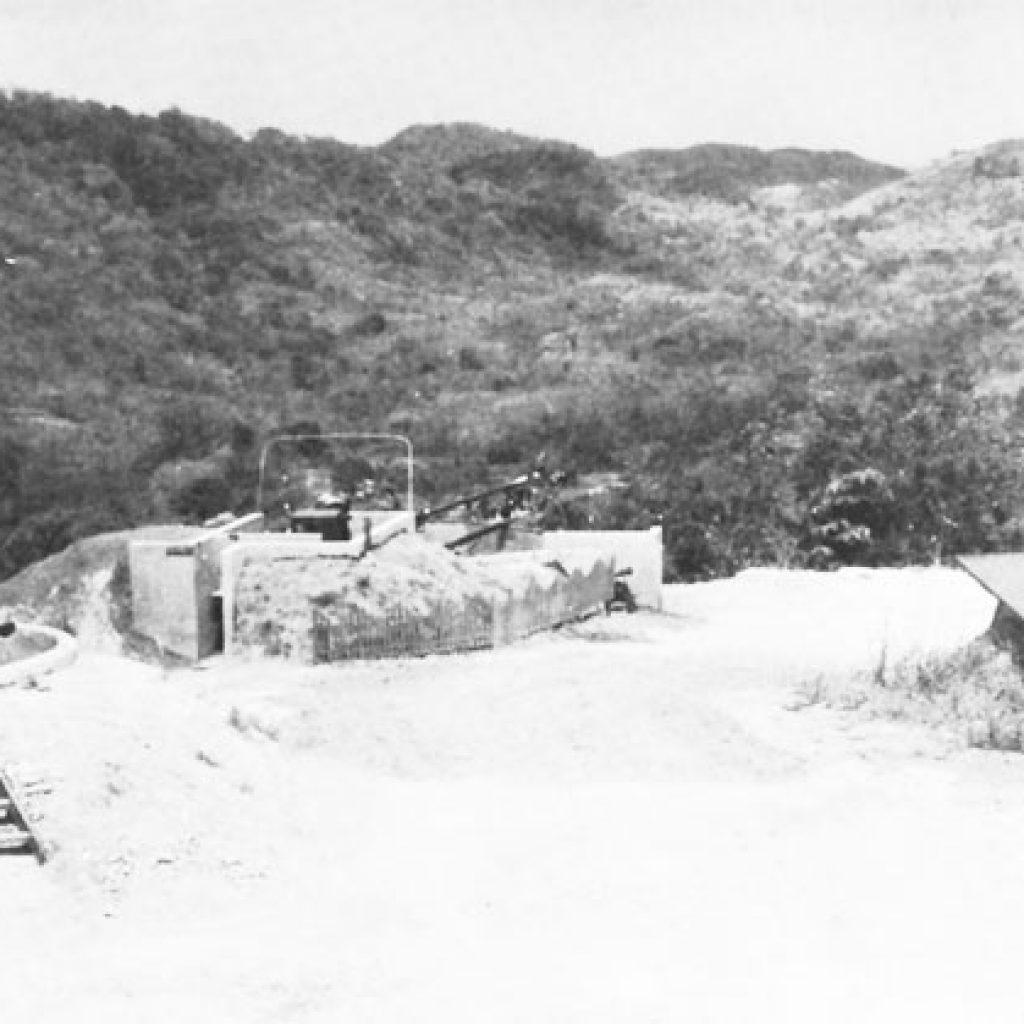 Guarding the Gatun Dam
