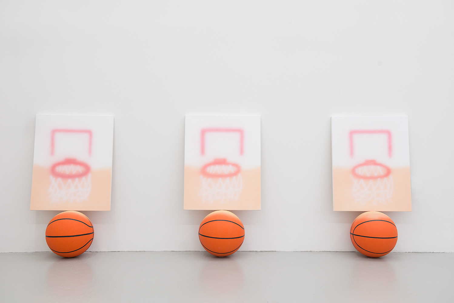 Goals On Balls, Installation view, 2015