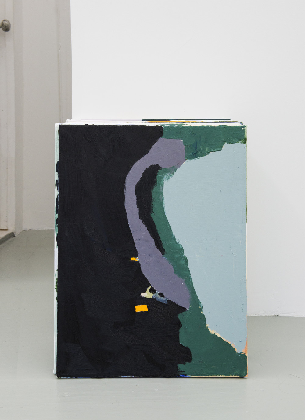 Am Schmidt Stack (The Annandale-on-Hudson Landscapes), 2015 16 paintings, oil on canvas