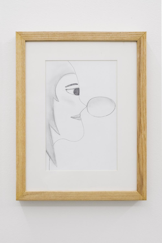 Quintessa Matranga Meadow's Room, 2016 Graphite on paper